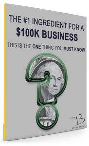 Grey Book Cover #1 Ingredient for a $100K Business